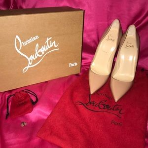 Authentic Christian Louboutins Size 38